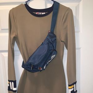 FILA dress with fanny pack